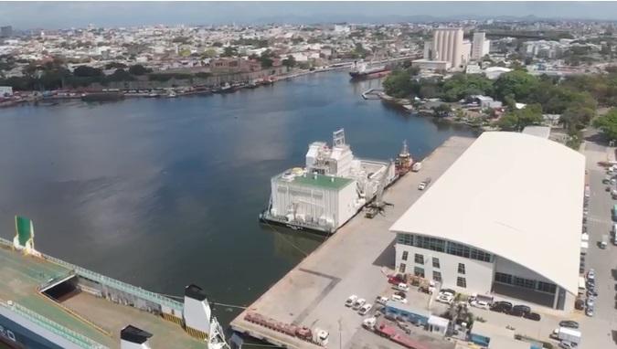 """INSAPROMA cuestiona llegada de la planta flotante  """"Estrella del Mar III"""" al río Ozama"""
