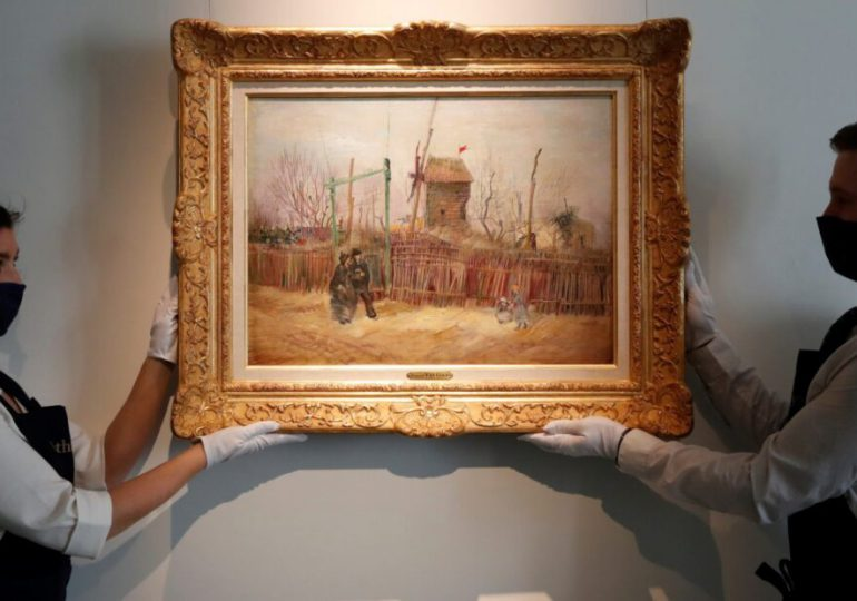Las compras en línea de obras de arte se dispararon en 2020 en el mundo