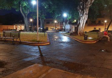 ADN y Banreservas remozan parque San Miguel en la Zona Colonial