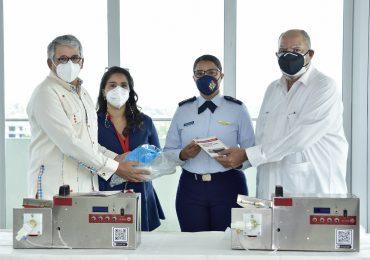 INTEC dona ventiladores al Hospital Ramón de Lara