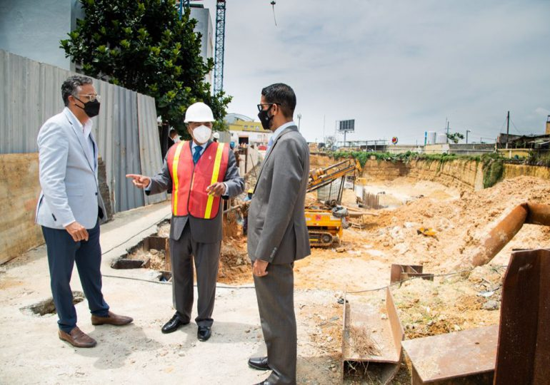 Edificio del Tribunal Constitucional avanza en proceso de construcción