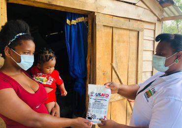 USAID dona alimentos  mediante el Programa de Ayuda Alimentaria; beneficia más de 20 mil personas