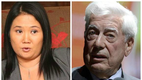 Vargas Llosa apoya a Keiko Fujimori para la segunda vuelta en Perú