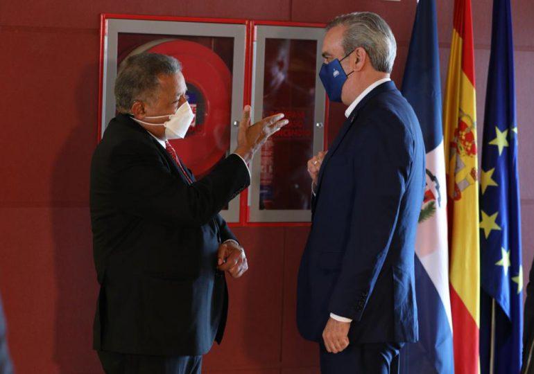 Presidente Abinader llega a Madrid, España
