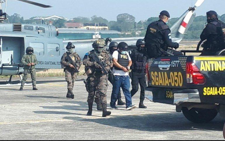 """Capturan en Guatemala al """"Diablo"""", presunto narco pedido en extradición por EEUU"""