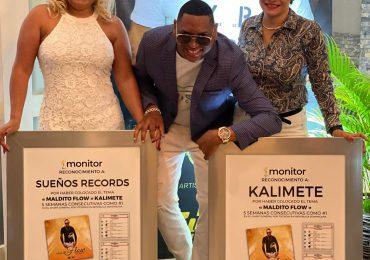 """Kalimete recibe reconocimiento de Monitor Latino por """"Maldito Flow"""""""