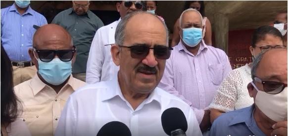 VIDEO | Leonardo Faña visita la Basílica de Higüey tras su salida de Najayo