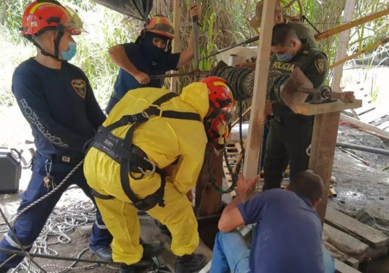 Rescatistas encuentran los cuerpos de dos mineros atrapados por inundación en Colombia