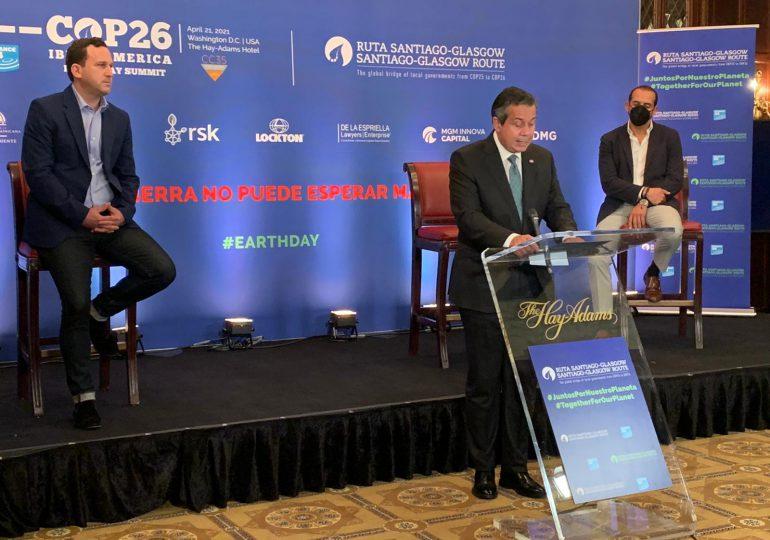 Medio Ambiente destaca compromiso de RD hacia la neutralidad del carbono