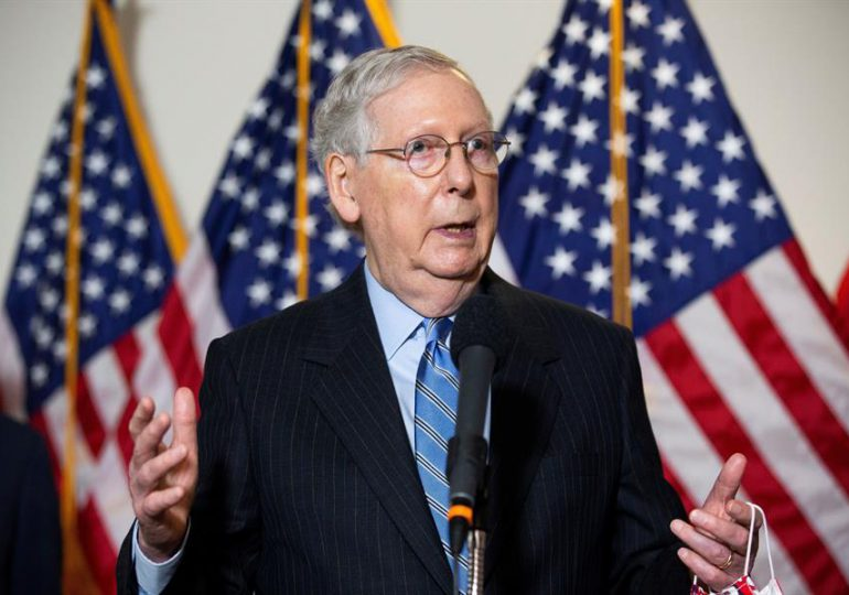 Líder republicano del Senado de EEUU se opone al plan de infraestructura de Biden