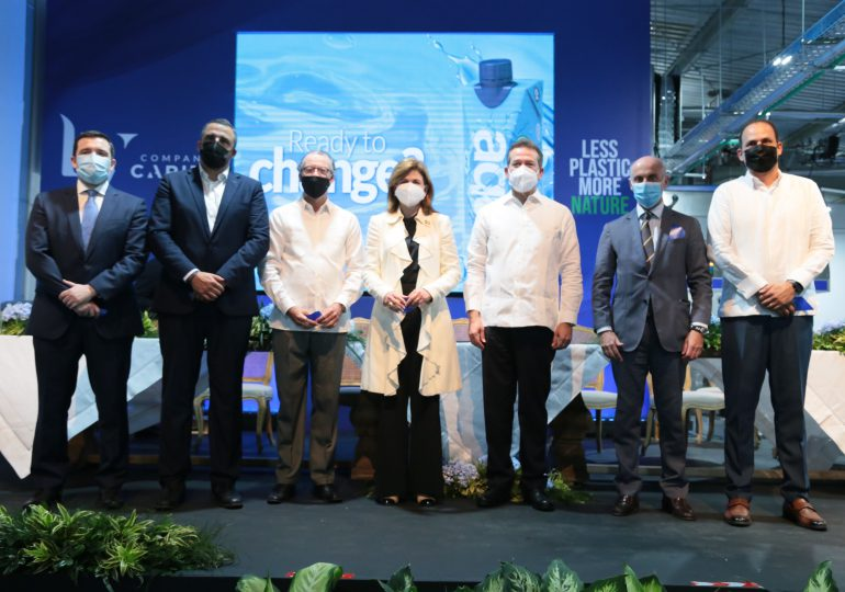 LY Company Caribe inaugura nueva planta de agua en envases de cartón