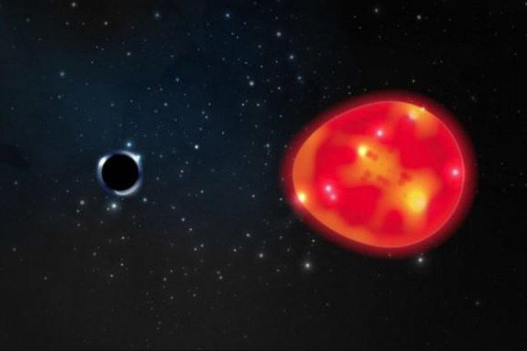 Astrónomos encontraron el agujero negro más cercano a la Tierra
