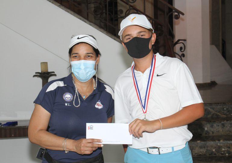 Huerta y Rodríguez dominan quinta parada Tour Juvenil Fedogolf