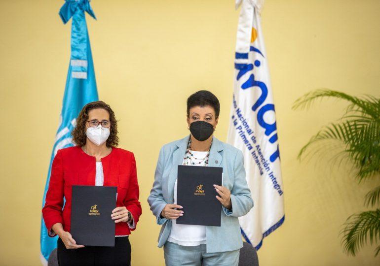 UNICEF e INAIPI acuerdan trabajar en la reducción de la desnutrición aguda