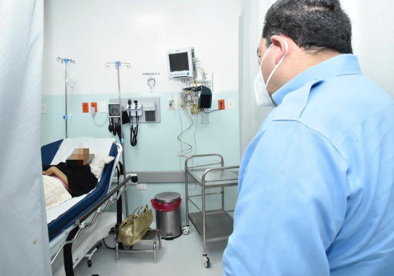 Director SNS supervisa funcionamiento de hospitales durante la Semana Santa