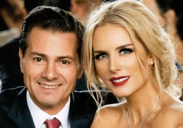 Peña Nieto y su novia Tania Ruiz en una boda en RD