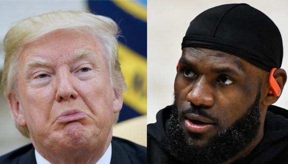 Trump arremete contra LeBron James por tuit sobre policía