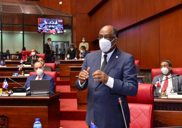 Senador Valentín Medrano cuestiona uso de recursos que ha tomado el Gobierno