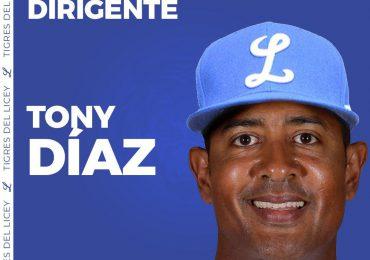 Tigres del Licey designan a Tony Díaz como su nuevo dirigente