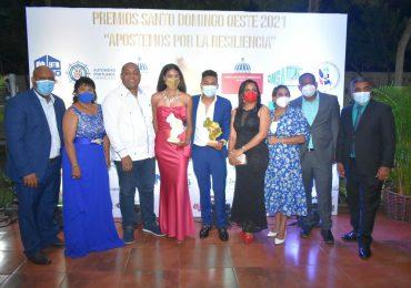 Premios Santo Domingo Oeste, celebró su tercera entrega en medio de la pandemia