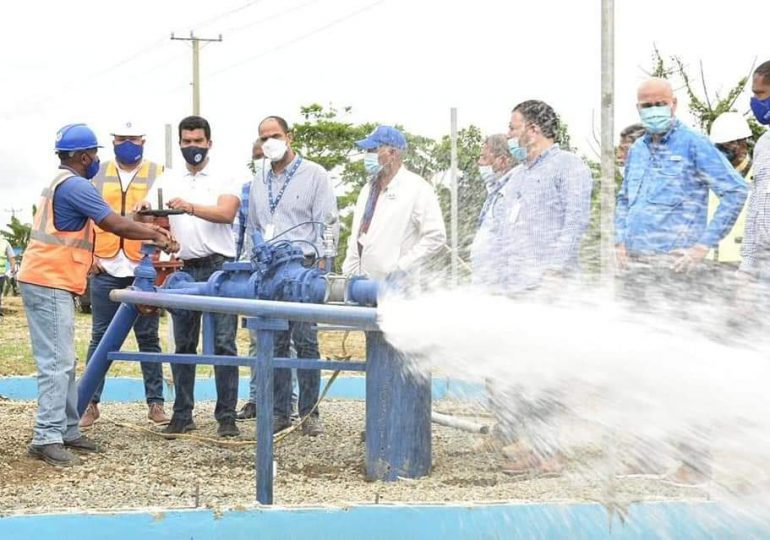 Inapa aumenta la producción de agua en Haina y Nigua