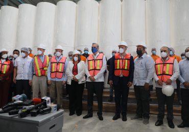 GALERÍA | Relanzamiento del parque Distrito Industrial Santo Domingo Oeste generará 30 mil empleos