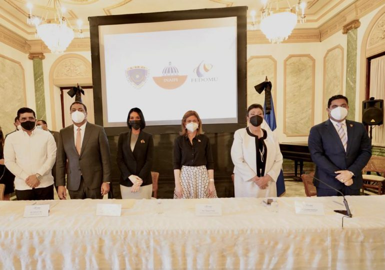 LMD, Fedomu e Inaipi firman acuerdo en beneficio de la primera infancia