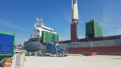 Minera Belfond exporta 8 mil toneladas métricas de carbonato de calcio hacia EE.UU