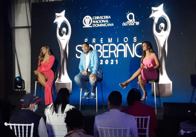 Carolin Aquino y Clarissa Molina serán las presentadoras de Premios Soberanos 2021