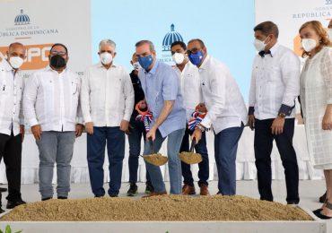 Gobierno inicia construcción de retorno operacional en La Vega con una inversión de más de RD$ 92 MM