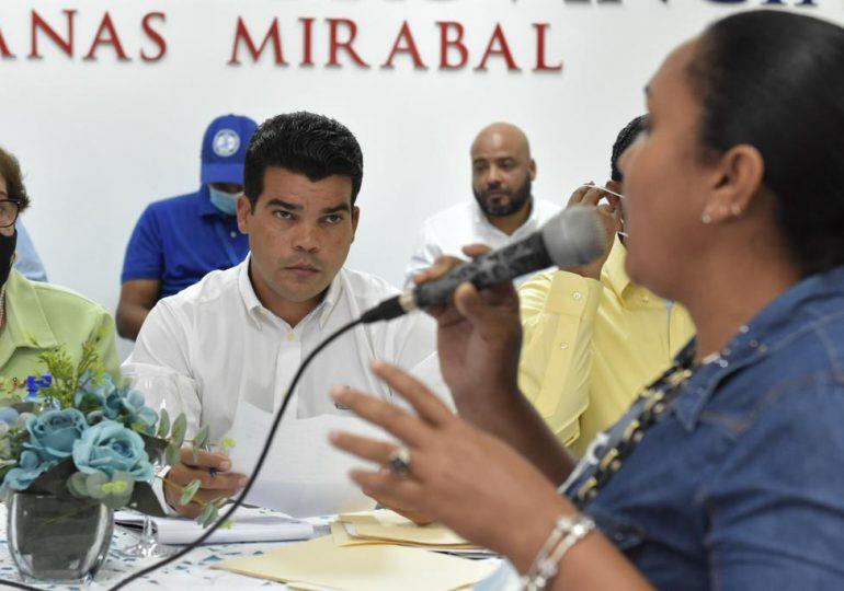 Arnaud garantiza servicio de agua potable y saneamiento  en provincias Hermanas Mirabal y Duarte