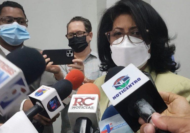 Cristina Lizardo rechaza referéndum sobre el aborto