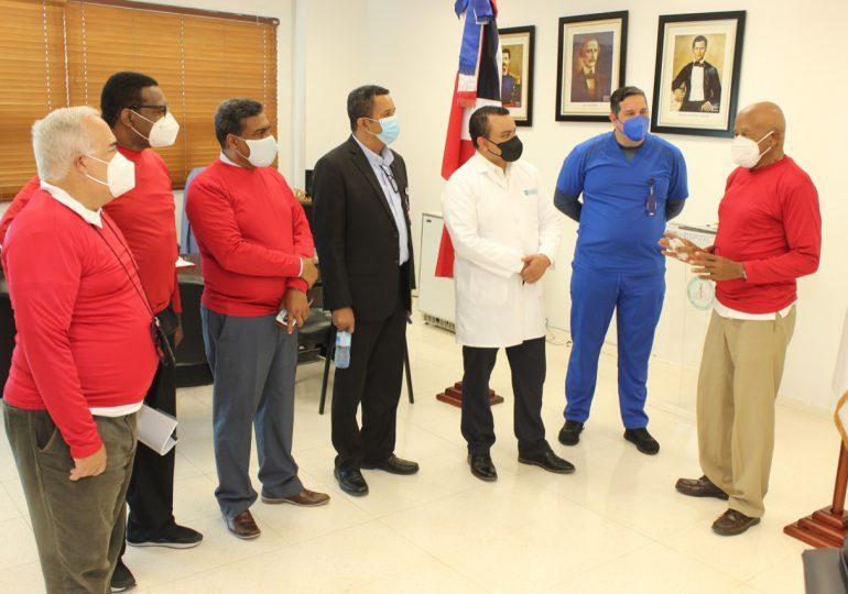 Hospital Ney Arias Lora realiza primer simulacro de siniestro del año