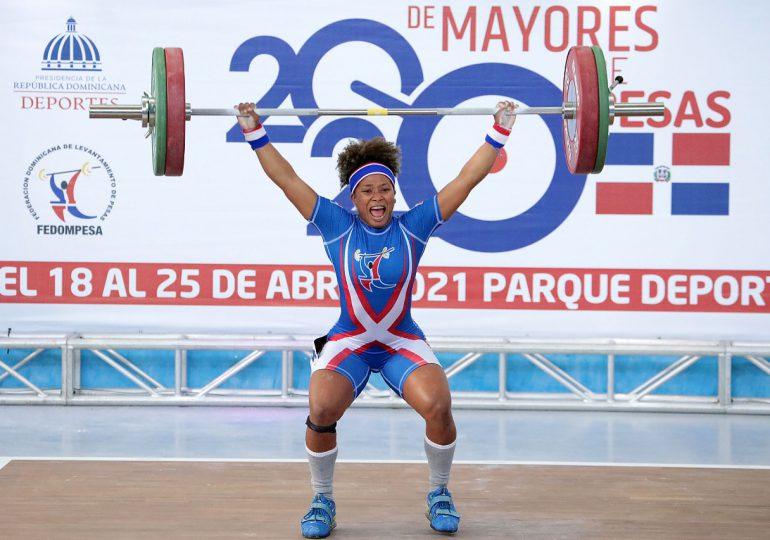Nathalia Novas y Dahiana Ortíz sobresalen en campeonato panamericano de pesas