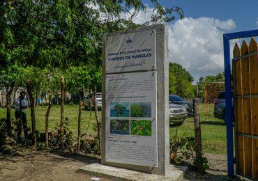 Instituciones restauran viveros de mangles en Parque Ecológico de Nigua