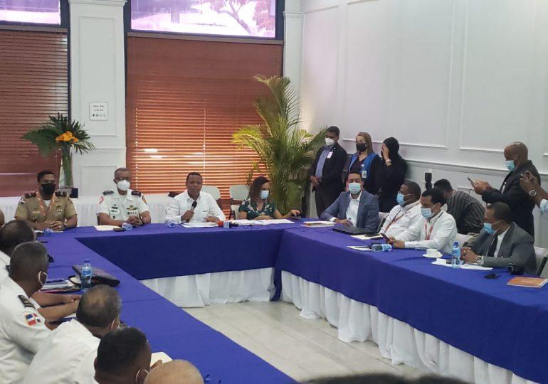 Edesur acuerda protocolo de seguridad con 15 Cuerpos de Bomberos del sur y el DN para emergencias