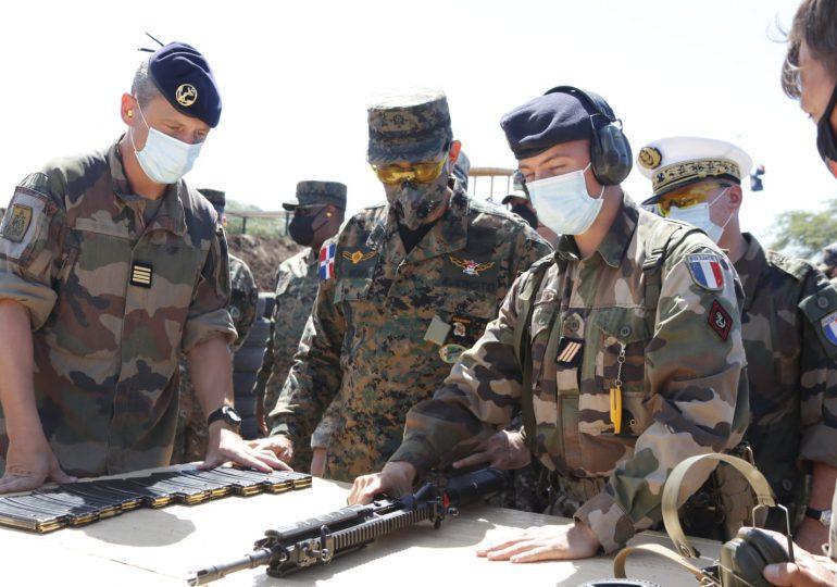 """Fuerzas Armadas de Francia y RD concluyen con éxito ejercicios militares """"Dunas 2021"""""""