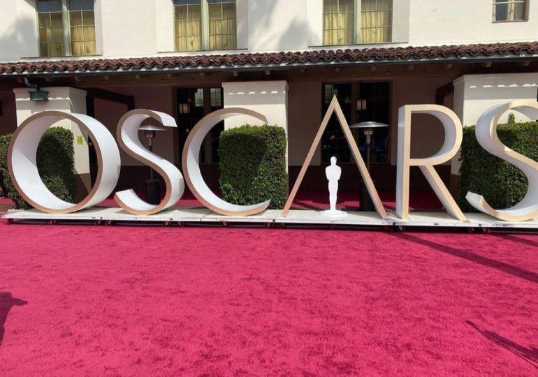 Los Oscars 2021 ya tiene lista su alfombra roja para la gala de hoy