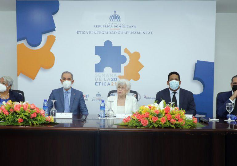 Anuncian habrá nuevas acciones estatales para garantizar ética de los funcionarios públicos