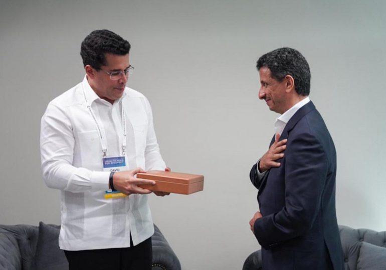 David Collado se reúne con Ahmed Al Khateeb, ministro de Turismo del Reino de Arabia