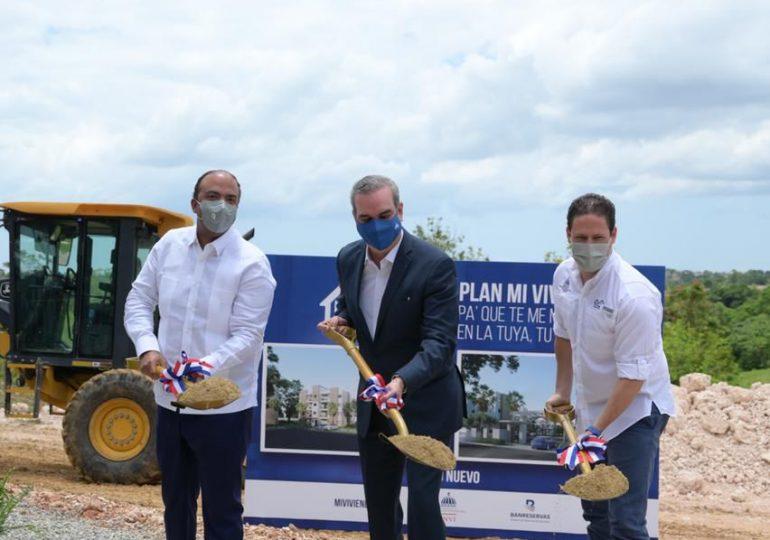 """Dan primer palazo para construcción de 7,544 apartamentos en primera etapa del """"Plan Mi Vivienda"""""""