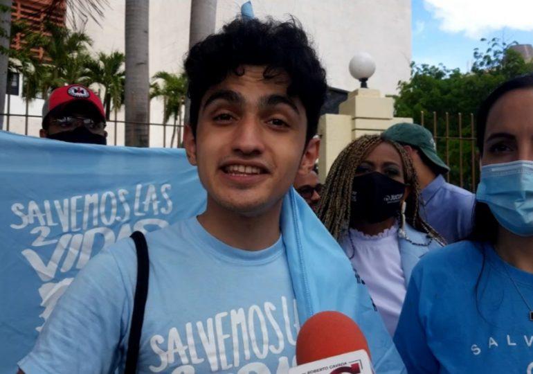 """VIDEO   """"Ganó la vida"""", afirma colectivo que rechaza las tres causales"""