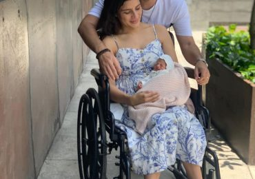 Dan el alta médica a Yeri Peguero y su hija Montserrat