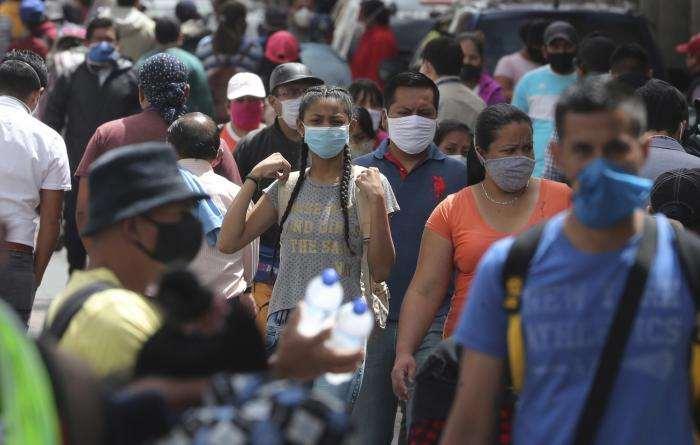 Ecuador registra 4,892 casos en un día, la segunda cifra más alta en pandemia
