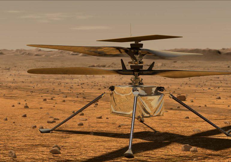 Datos clave sobre sobre el helicóptero Ingenuity de la NASA
