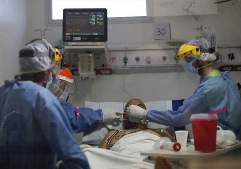 Coronavirus RD | MSP reporta siete decesos, 982 nuevos casos y 73% de ocupación camas UCI
