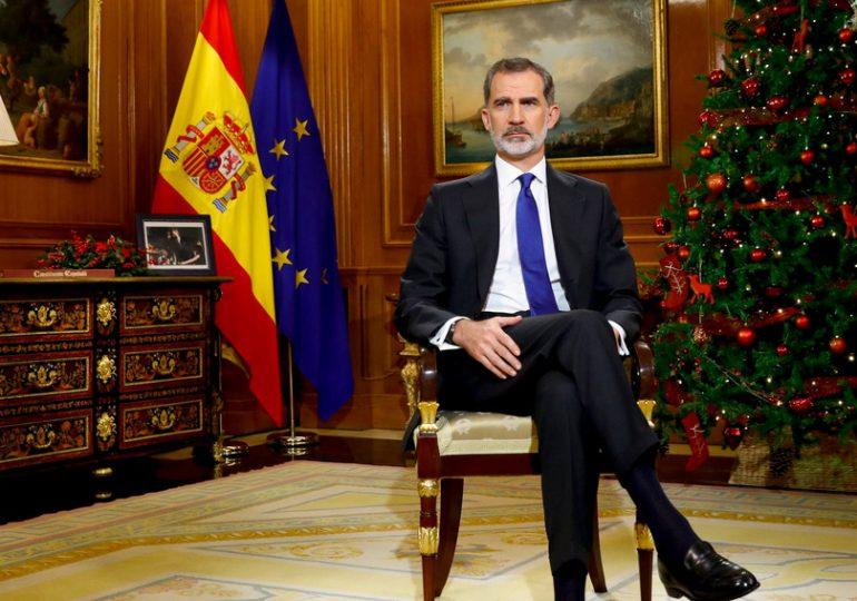 Rey Felipe VI de España envía mensaje a Centroamérica por los acuerdos de paz