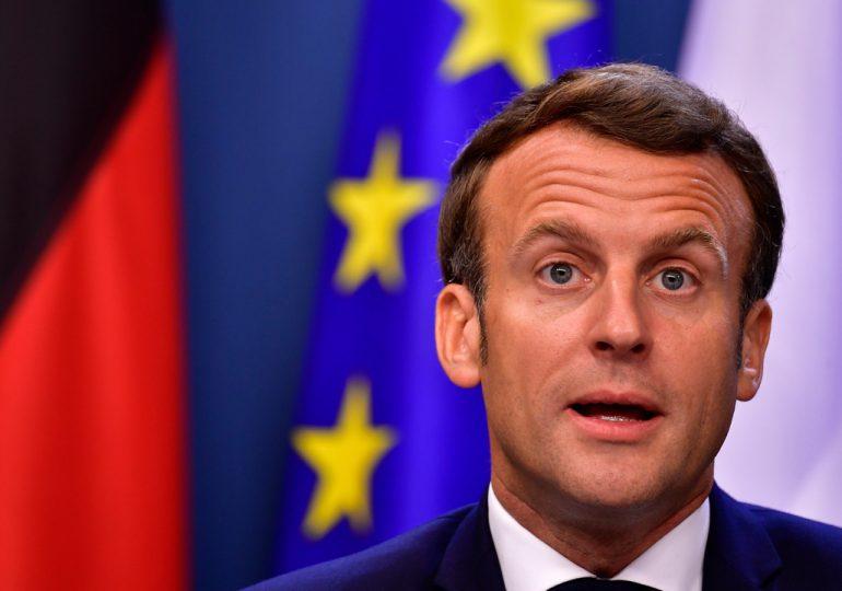 Presidente francés da positivo por coronavirus tras mostrar síntomas