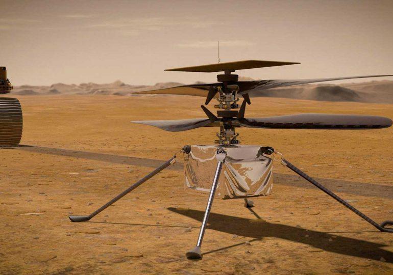 Prueba de vuelo de helicóptero en Marte promete momento histórico para NASA