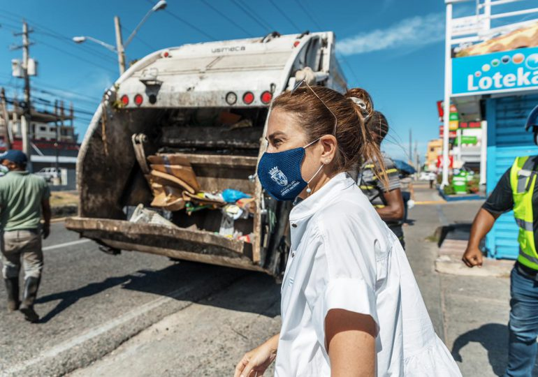 Carolina Mejía califica de exitosa jornada de prevención Semana Santa 2021 en el DN